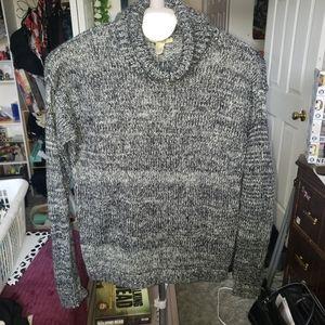 BOGO Forever 21 turtleneck fuzzy sweater